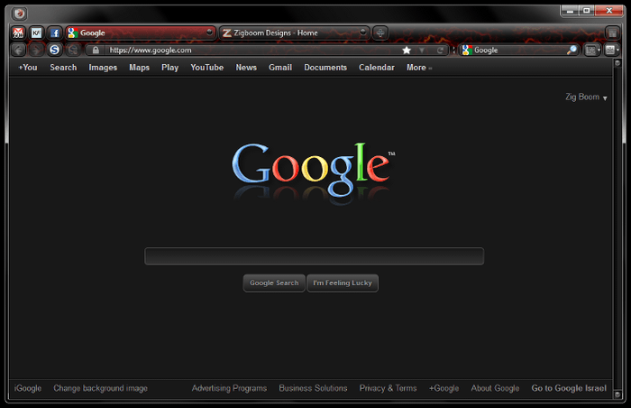 Darker Google by Zigboom Designs