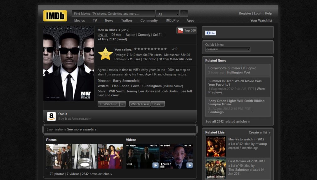 Darker IMDb by Zigboom Designs