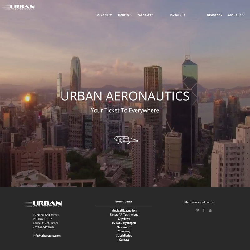 Urban Aeronautics Ltd. Custom Design & Development